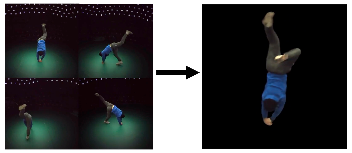 'Neural Body' Reconstructs Dynamic Human Bodies From Sparse Camera Views