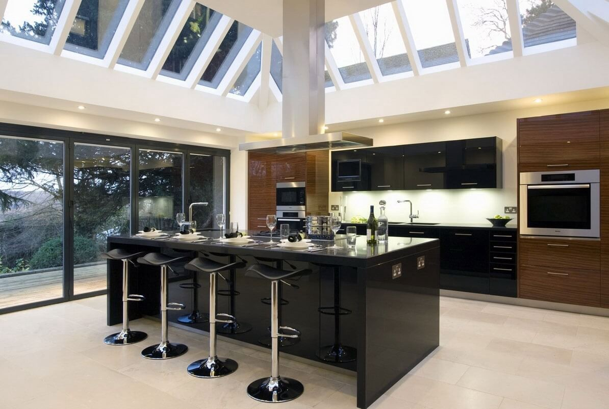 Generally, Housewifes Mostly Spend Her Time In Kitchen. A Good Kitchen  Design Can Make Her Feel Good Inside, Here Are Some Modern Tropical Kitchen  Designs ...