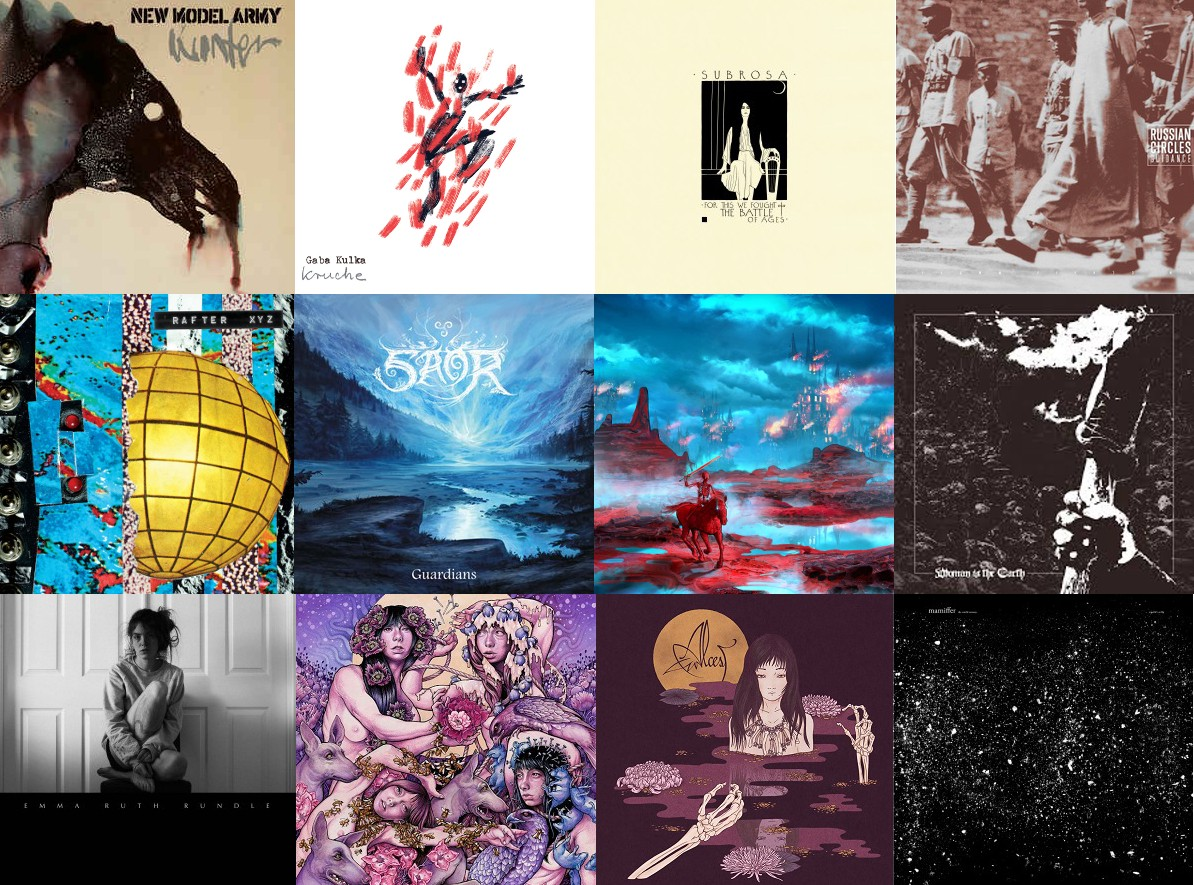 Nine New Albums I Loved in 2016 (And Three More by My Friends)
