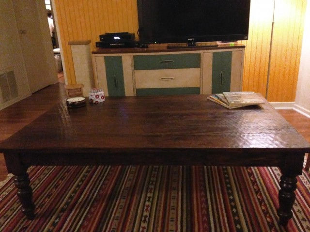 Was It Worth It The Craigslist Coffee Table The Billfold