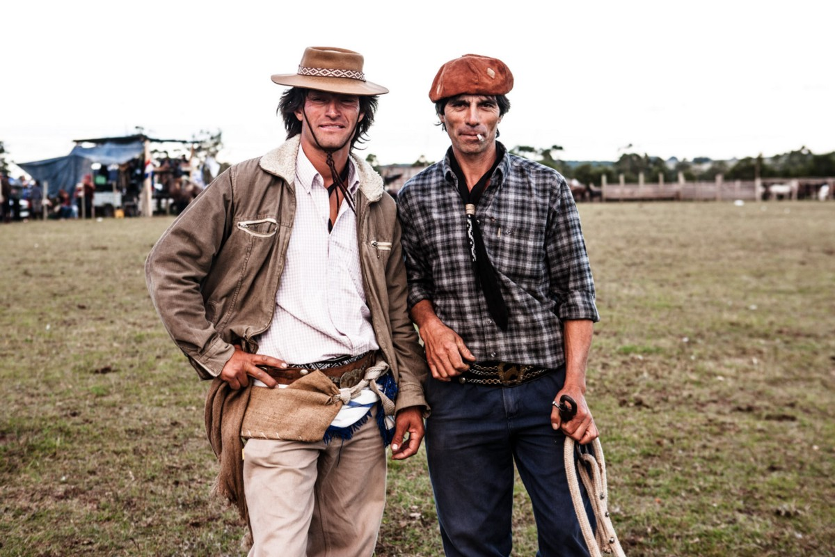 While some wear boleros, the floppy boina hat is an integral aspect of gaucho style. It was introduced when Spanish settlers colonised the pampas ©James Fisher 2017 All Rights Reserved