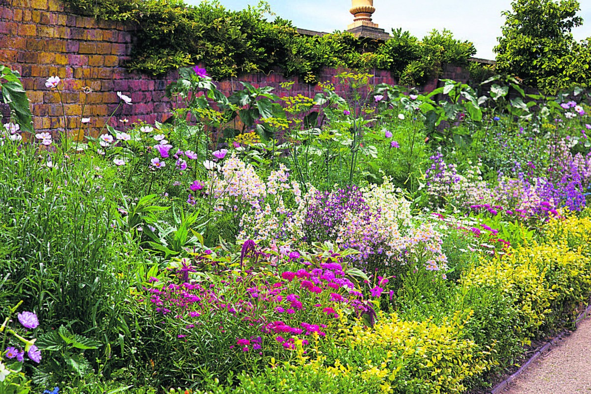 What border for a flower bed to choose