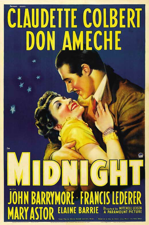 Classic 30s Movie Midnight Go Into The Story