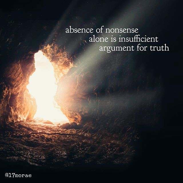 absence of nonsense