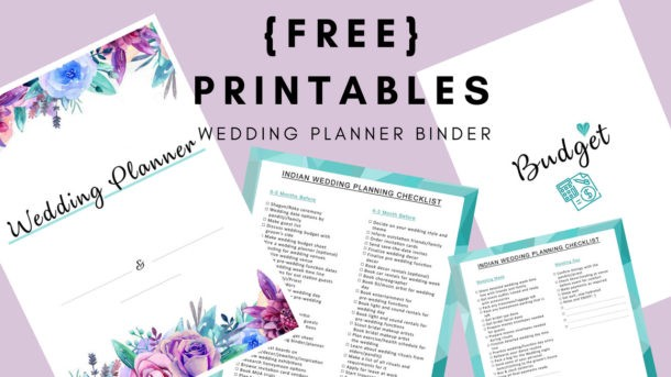 How To Plan A Wedding Diy Wedding Planning Binder Posherry Medium