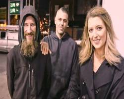 picture of couple who helped homeless man by raising $400,000
