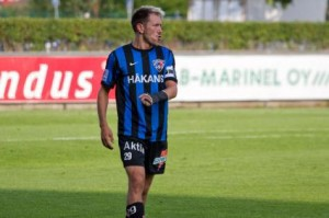 Il capitano dell'Inter Turku, Henri Lehtonen