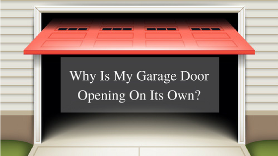 Why is my garage door opening on its own ashley rosa for Garage door opens on its own