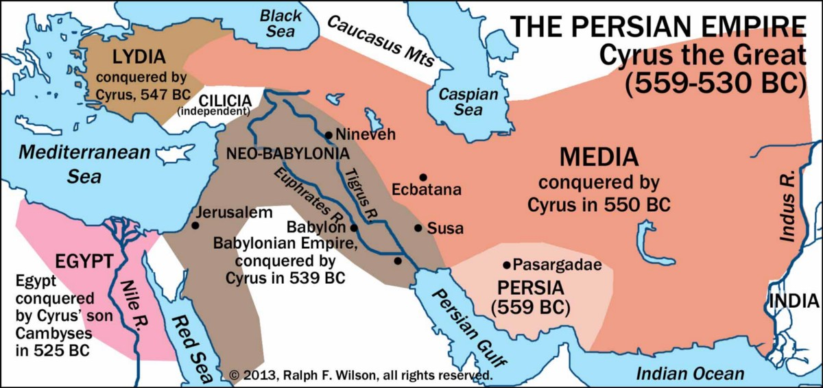 Understanding The Persian Empire Cher Yi Medium