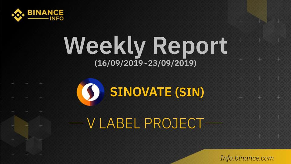 SINOVATE Monthly Update 8