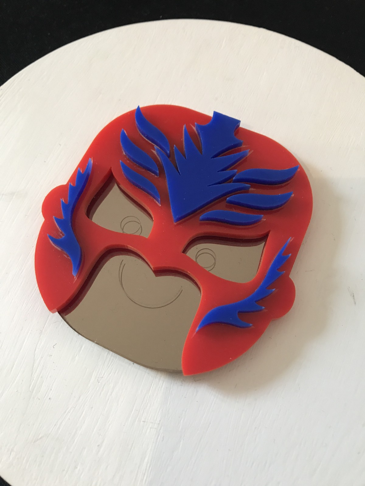 Mexican fighting mask
