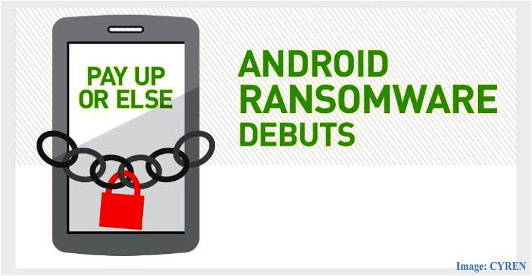 Android Ransomware which threatens to make your private data public