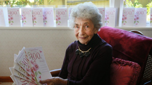 Birthday Cards Get A Bit Repetitive For 100 Year Old Woman From Cardshit