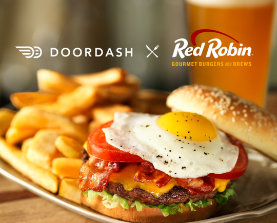 Delivery Is Available From More Than 70 Red Robin Restaurants Throughout Phoenix Seattle Los Angeles Indianapolis San Francisco Chicago Dallas