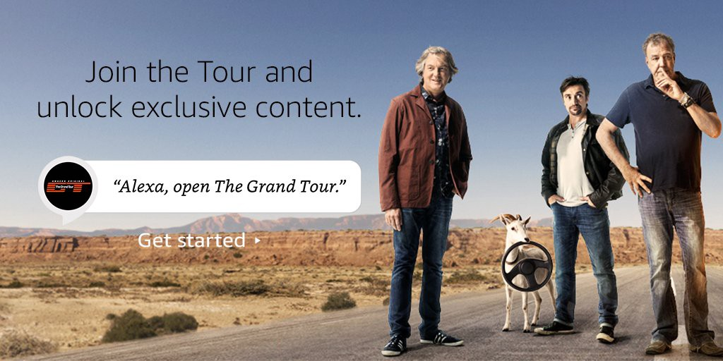 case study pullstring and alexa hit the road on the grand tour. Black Bedroom Furniture Sets. Home Design Ideas