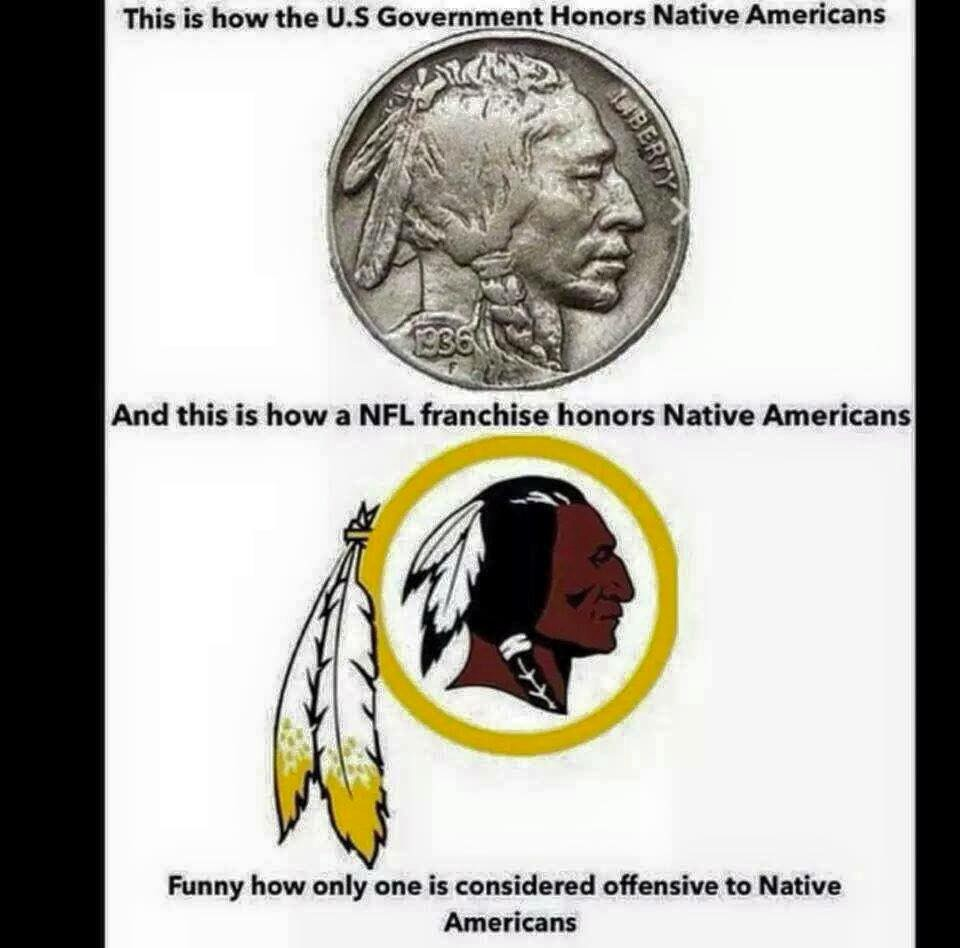 Does The Washington Redskins Name Honor Native Americans