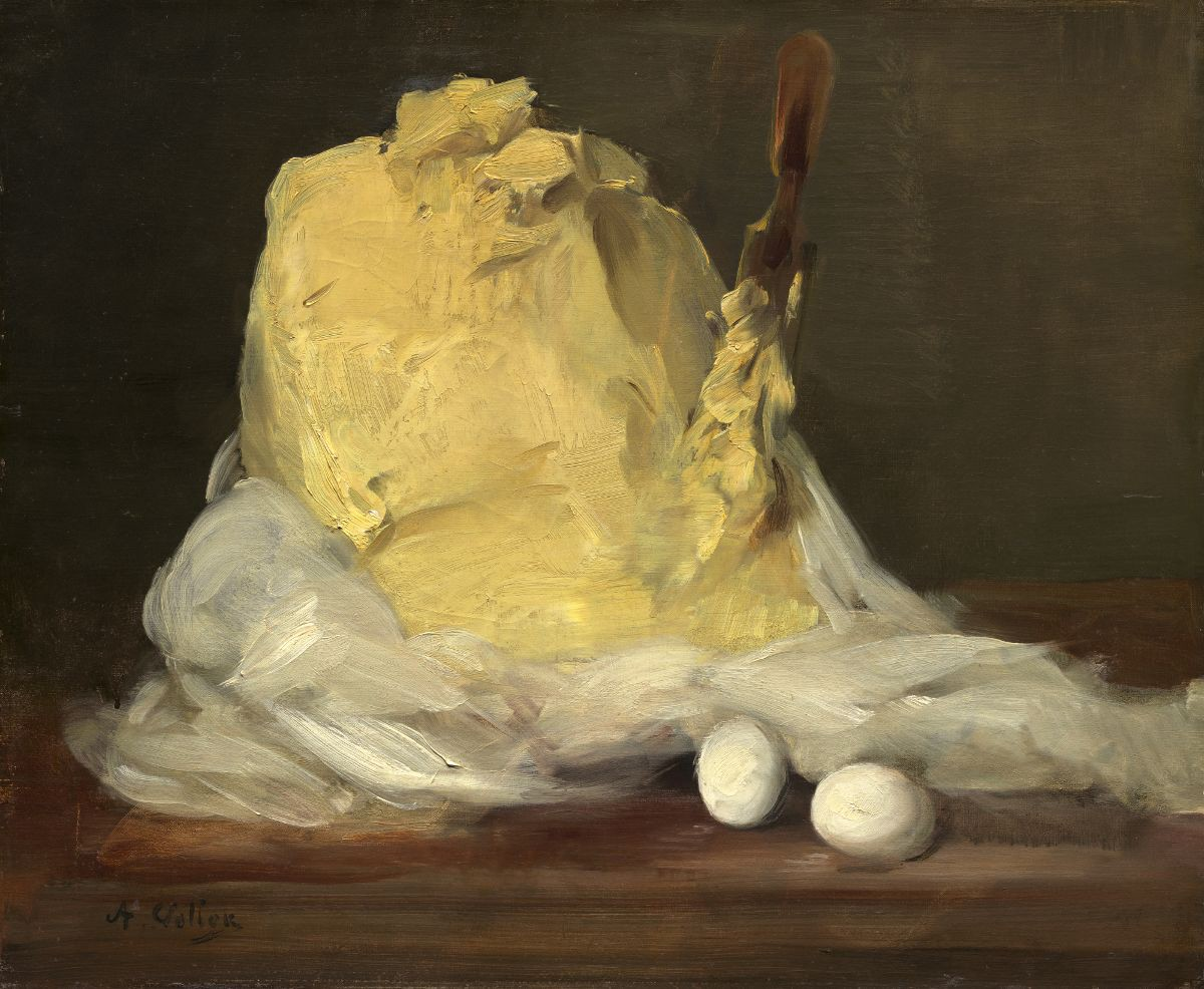 """Antoine Vollon, """"Mound of Butter"""" (Source: National Gallery of Art 