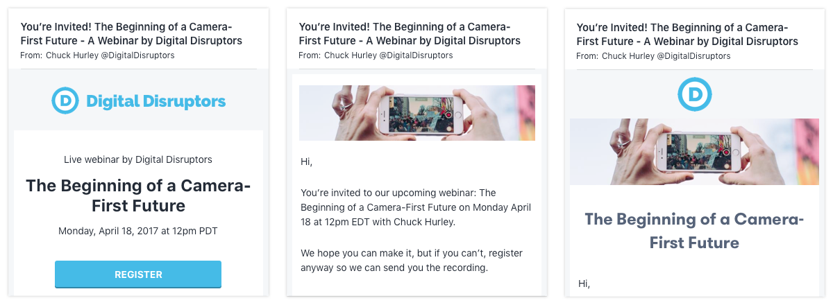 how to craft a compelling webinar invitation to drive webinar