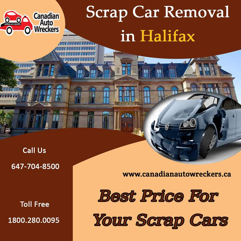 Scrap Car Removal Halifax — Get Cash Benefits from Your Scrap Car ...