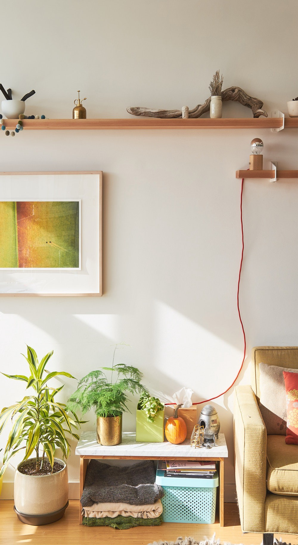 Instead Of Investing In Standalone Storage Pieces Look To Your Walls For Assistance Shelves Are Simple To Put Up As