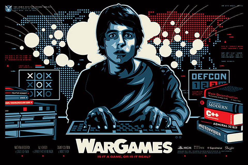 wargames 80 s style deep learning creative analytics