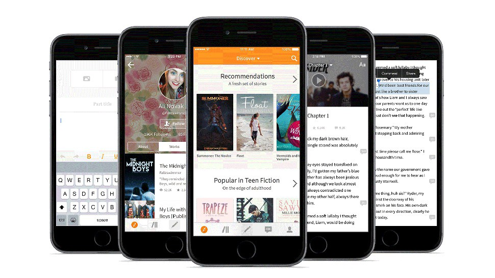 smart apps read free books and publish your own with wattpad
