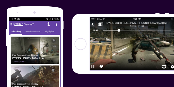 download twitch videos to ipad