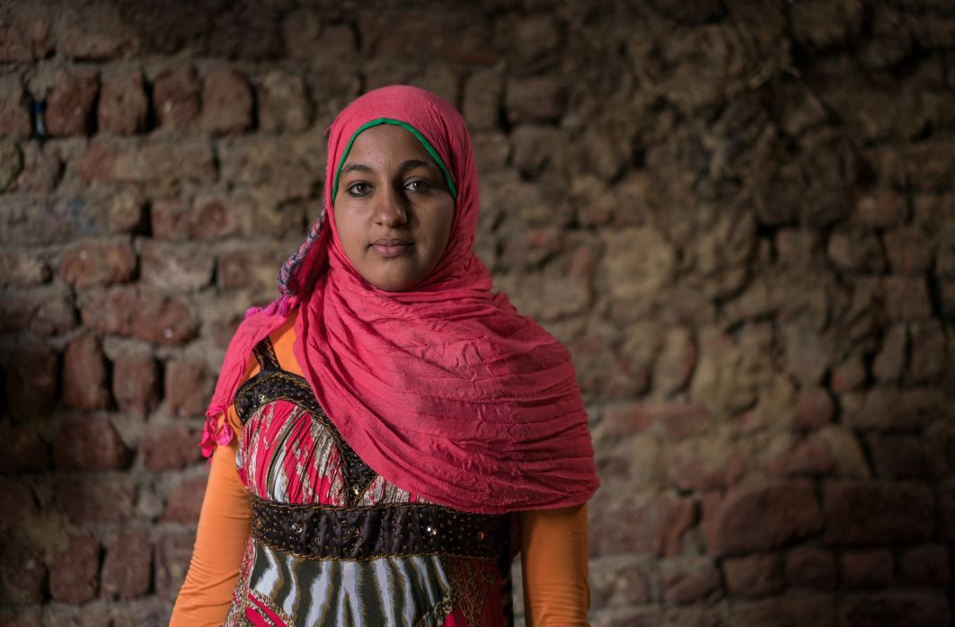 Doaa is creating a brighter future for her family in Egypt. (Thomas Cristofoletti for USAID)