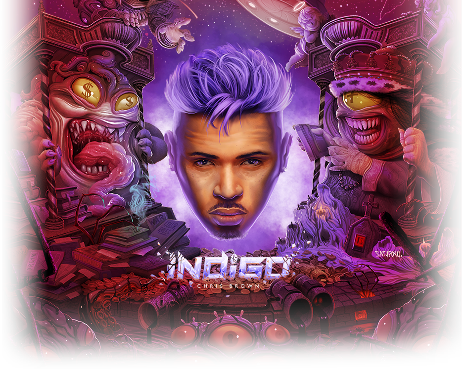 Image result for chris brown indigo album cover