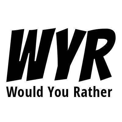 "dating wyr Amp up your game and surprise your crush with these incredibly flirty ""would you rather"" questions he  consistently bringing up dating is definitely the right ."