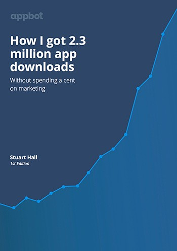 New ebook how i got 23 million app downloads appbot its a free download and if you like it we would love it if you would share it with your friends and colleagues gumiabroncs Choice Image