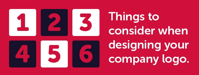 6 things to consider when designing your company logo
