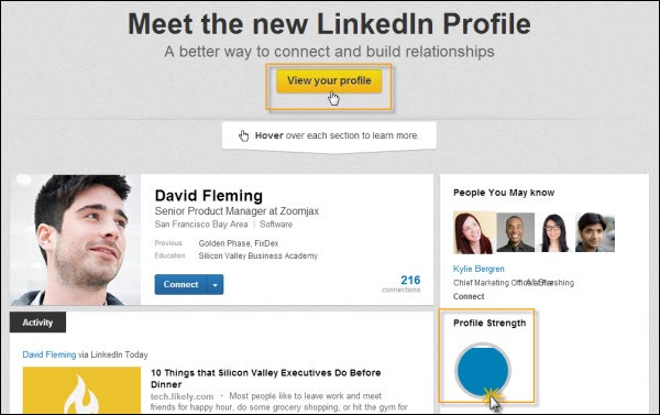 how to set up your linkedin profile social media news medium
