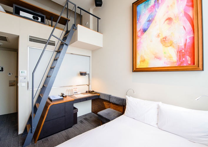 5 hipster s favourite hotels in tokyo jw web magazine for Hipster hotel