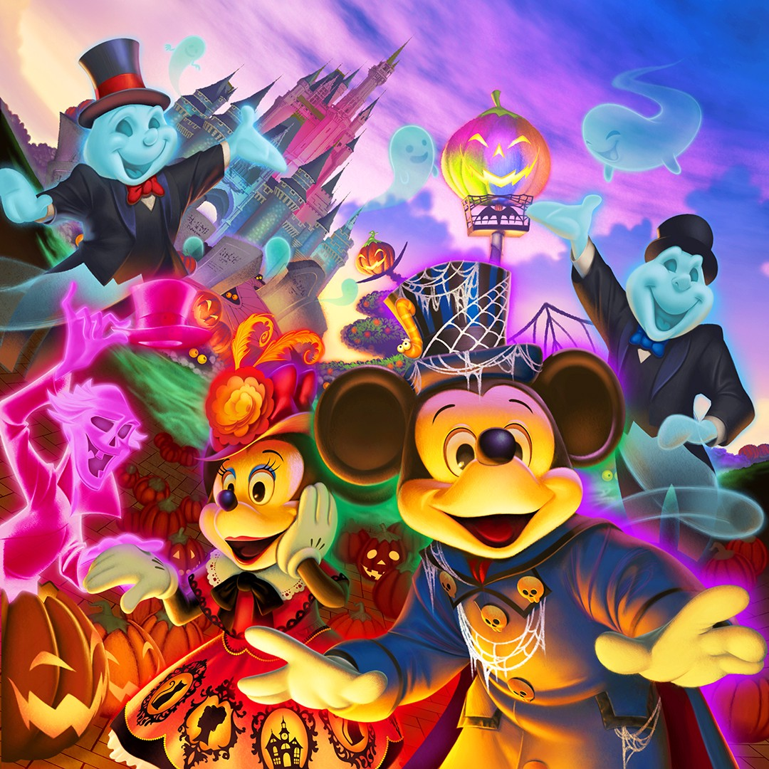 the special halloween event will be held at tokyo disney resort tokyo disneyland and disneysea 2018 autumn dont miss the most exciting halloween event