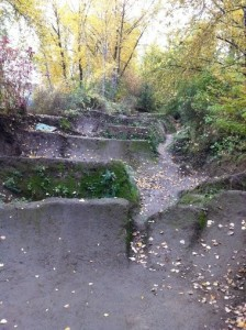 The old (illegal) dirt jump park