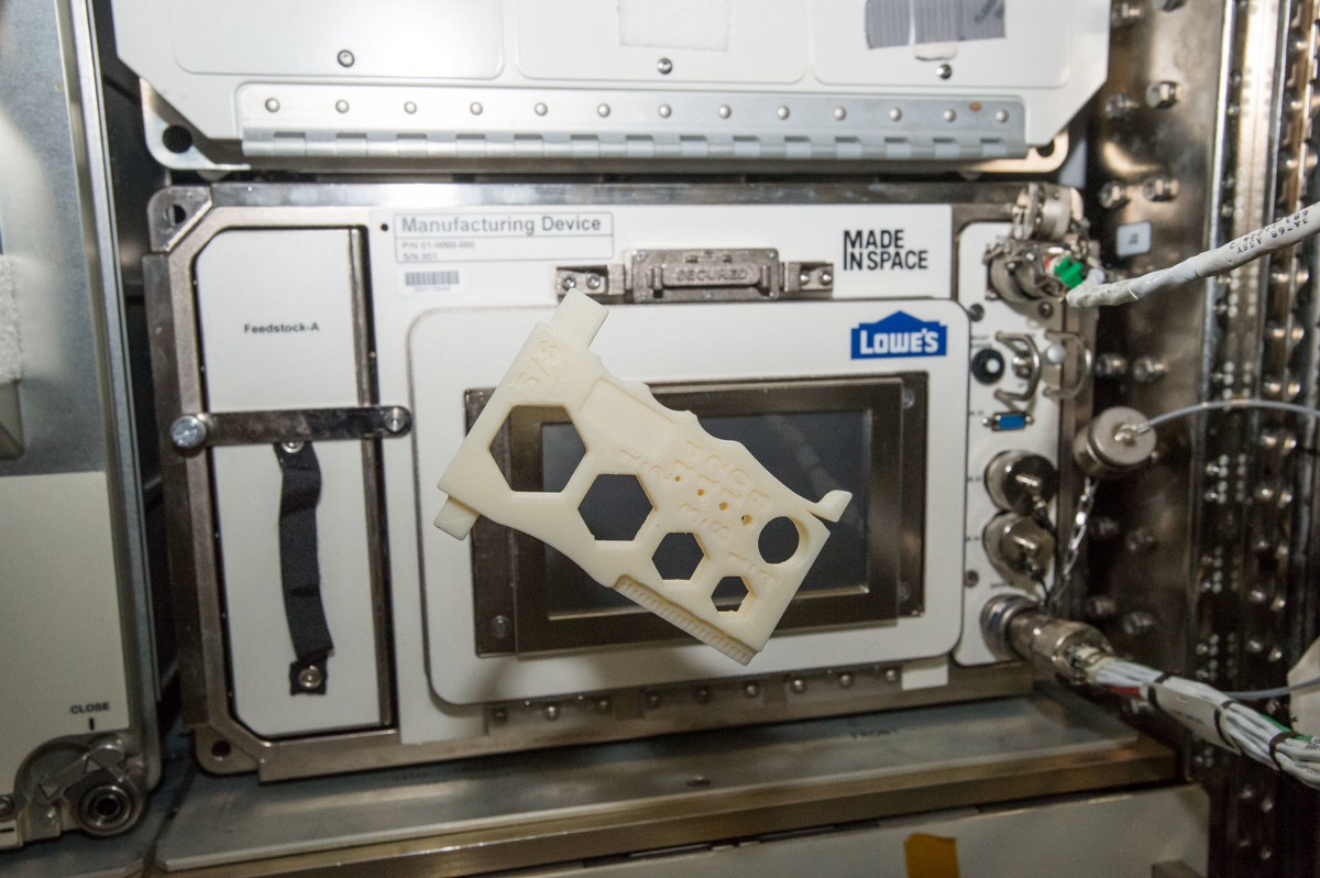 Additive Manufacturing Facility: 3D Printing The Future in Space