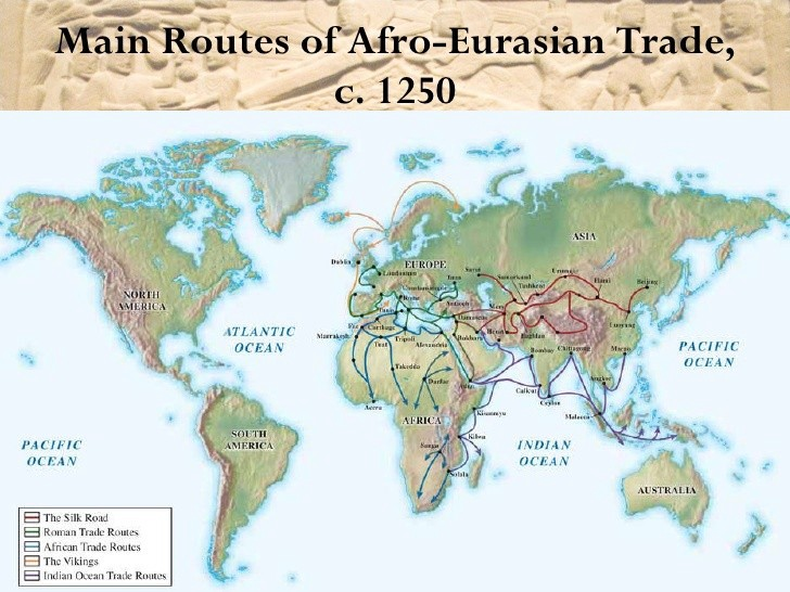 Early Global Connections Asia And Mediterranean Europe And Africa