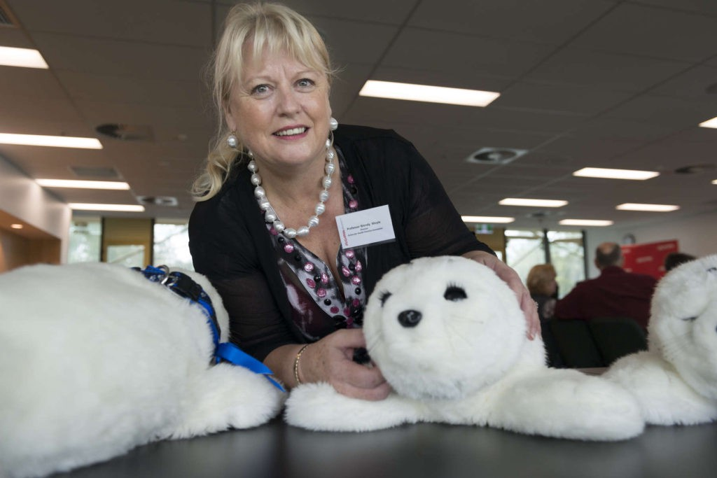 Could a Fluffy Pet Robot Revolutionize Dementia Care?