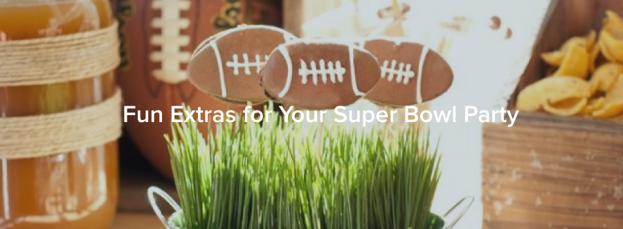 Fun Extras for Your Super Bowl Party