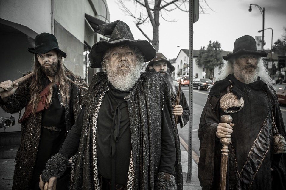 Wizard gangs taking over the streets.