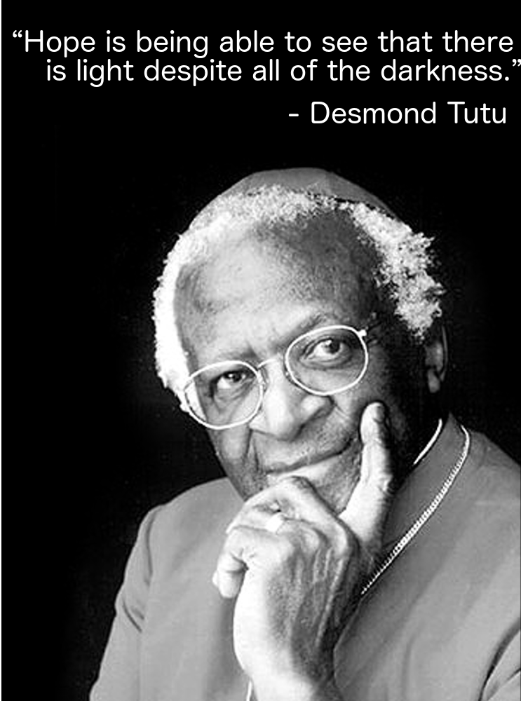 why is desmond tutu an example of a good leader