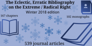 extreme right bibliography winter 2018 edition in numbers