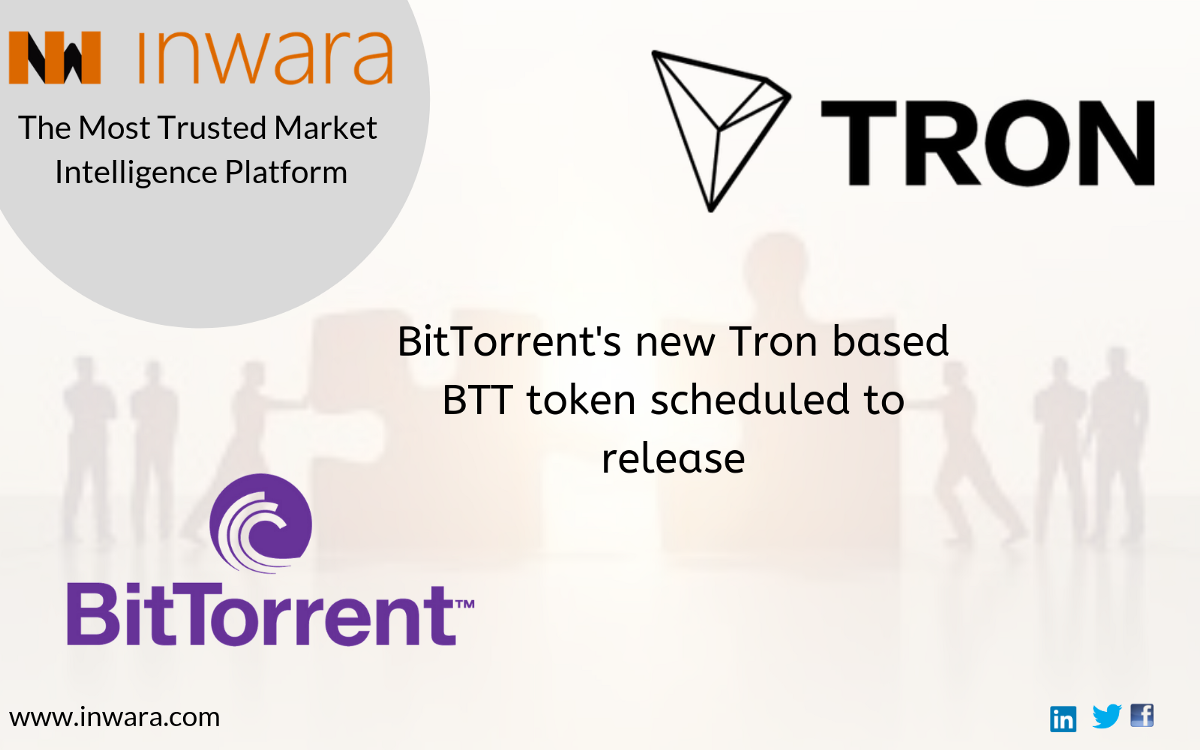 Tron (trx) rallies 34% in one week, gears up with bittorrent.