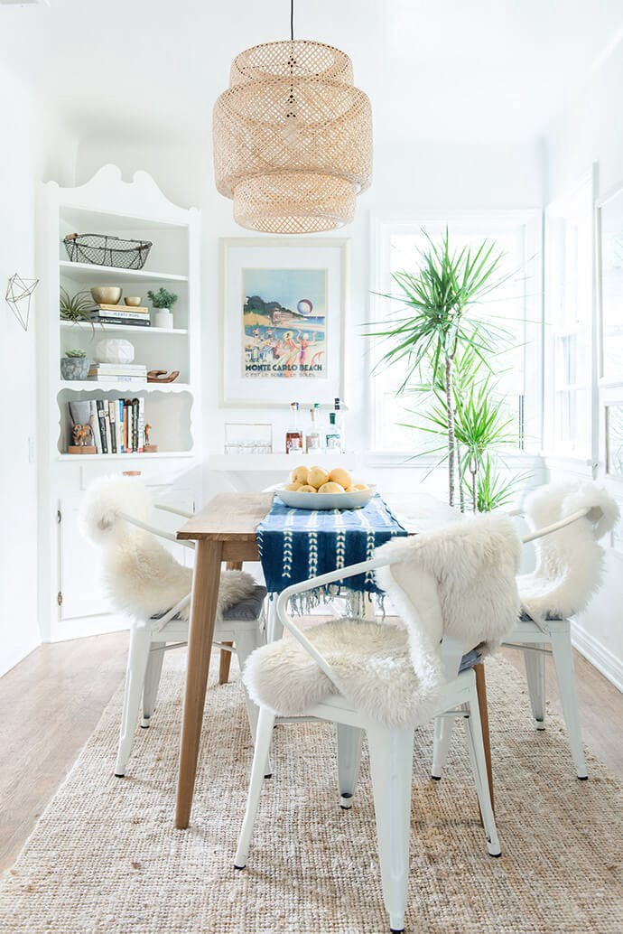 California Dining Room Interior Design Important To Remember When Putting Together A West-coast Inspired Space Is  That Comfort And Ease Of Livability Are At The Forefront Of The Style.