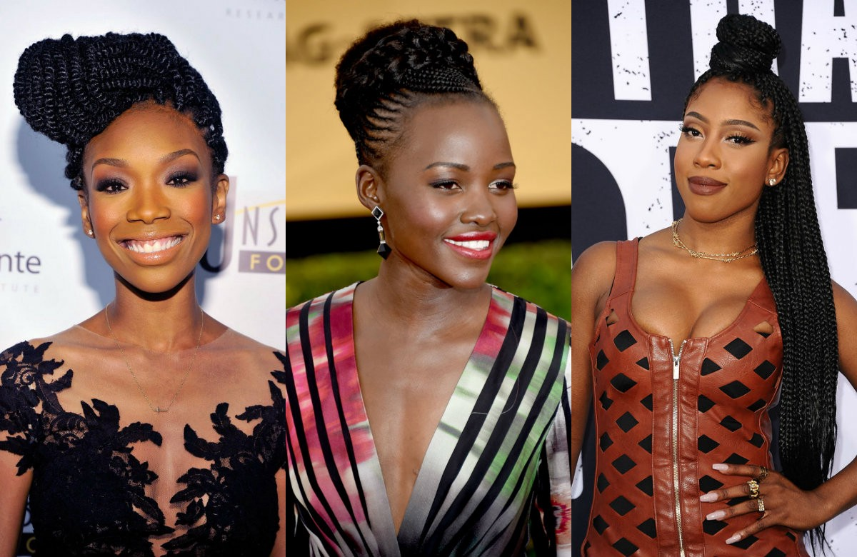 Following The Best In Black Celebrity Hairstyles 2018