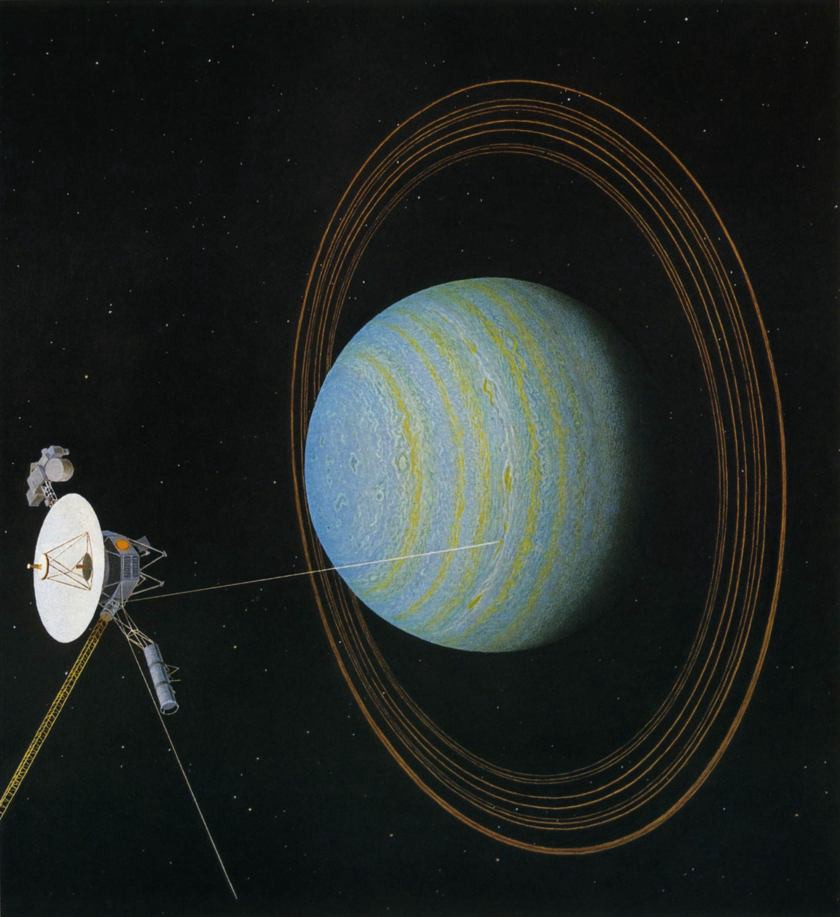 Voyager  Discovered New Rings Additional New Moons Saturn
