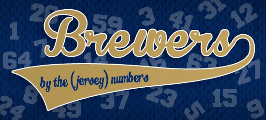 reputable site 249db c0a3c Brewers By the (Jersey) Numbers '15 — #66 Juan Centeno
