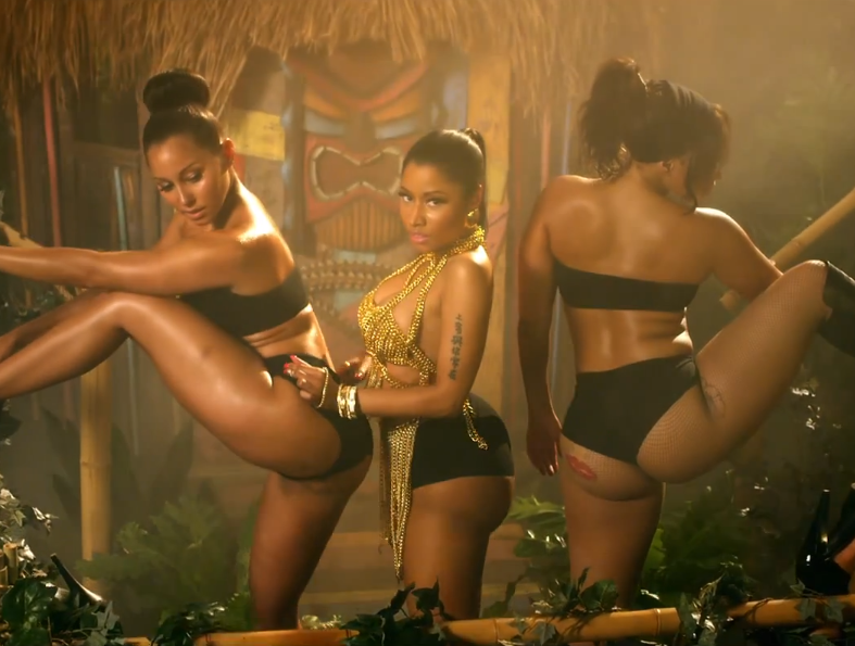 Nicki minaj ass anaconda are mistaken