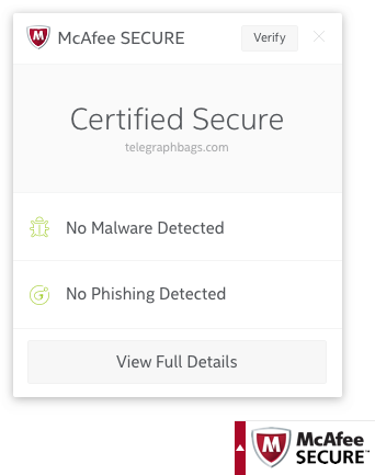 McAfee Certified Secure